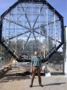 Telescopul Eyeglass prin origami